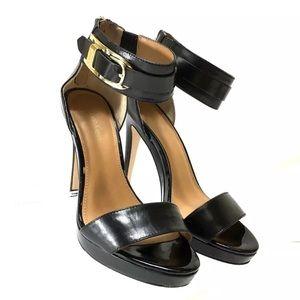 d78a86e5b2ee Calvin Klein Women s Shoes Panthea Black Leather